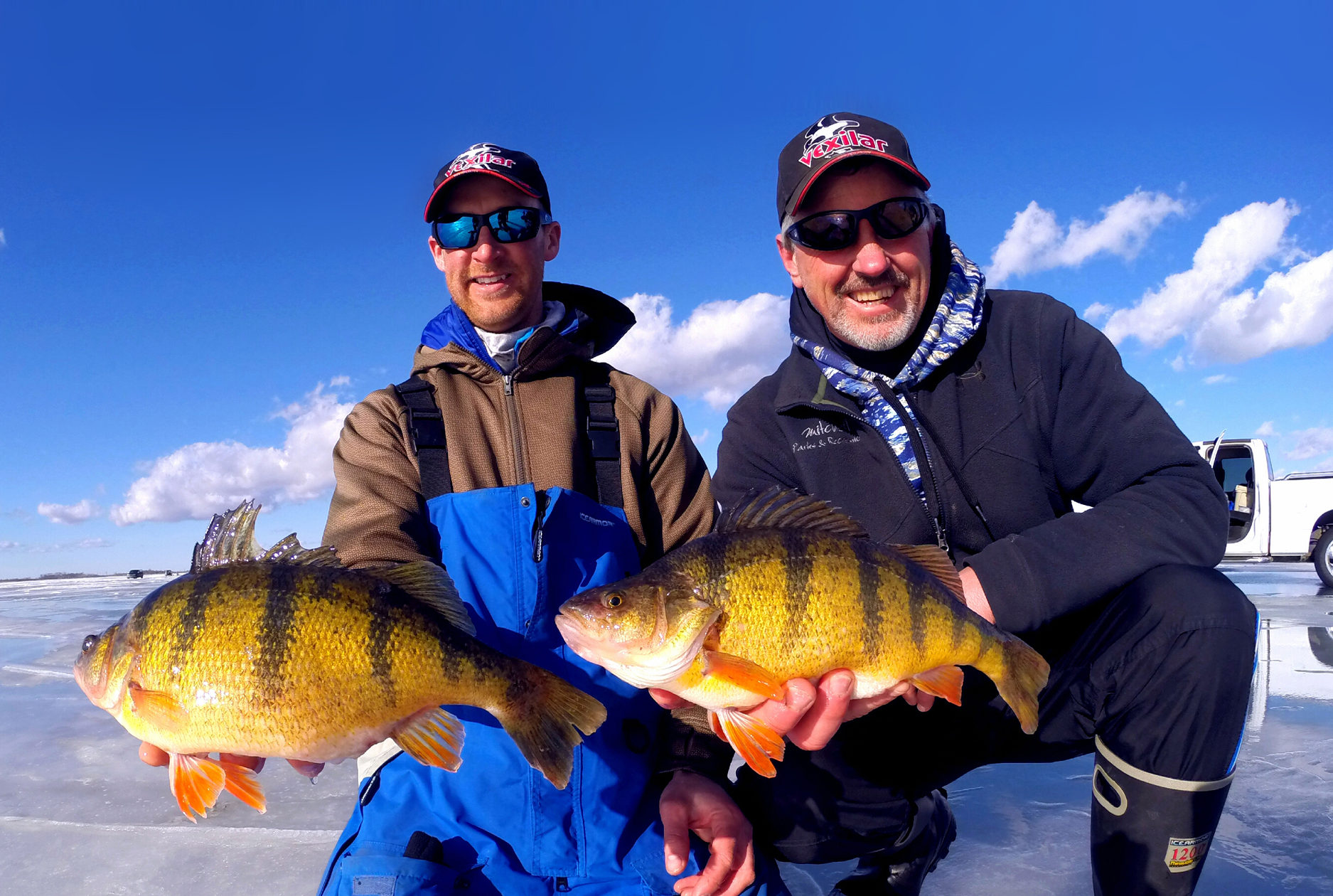 Jumbo perch fishing guide John Hoyer