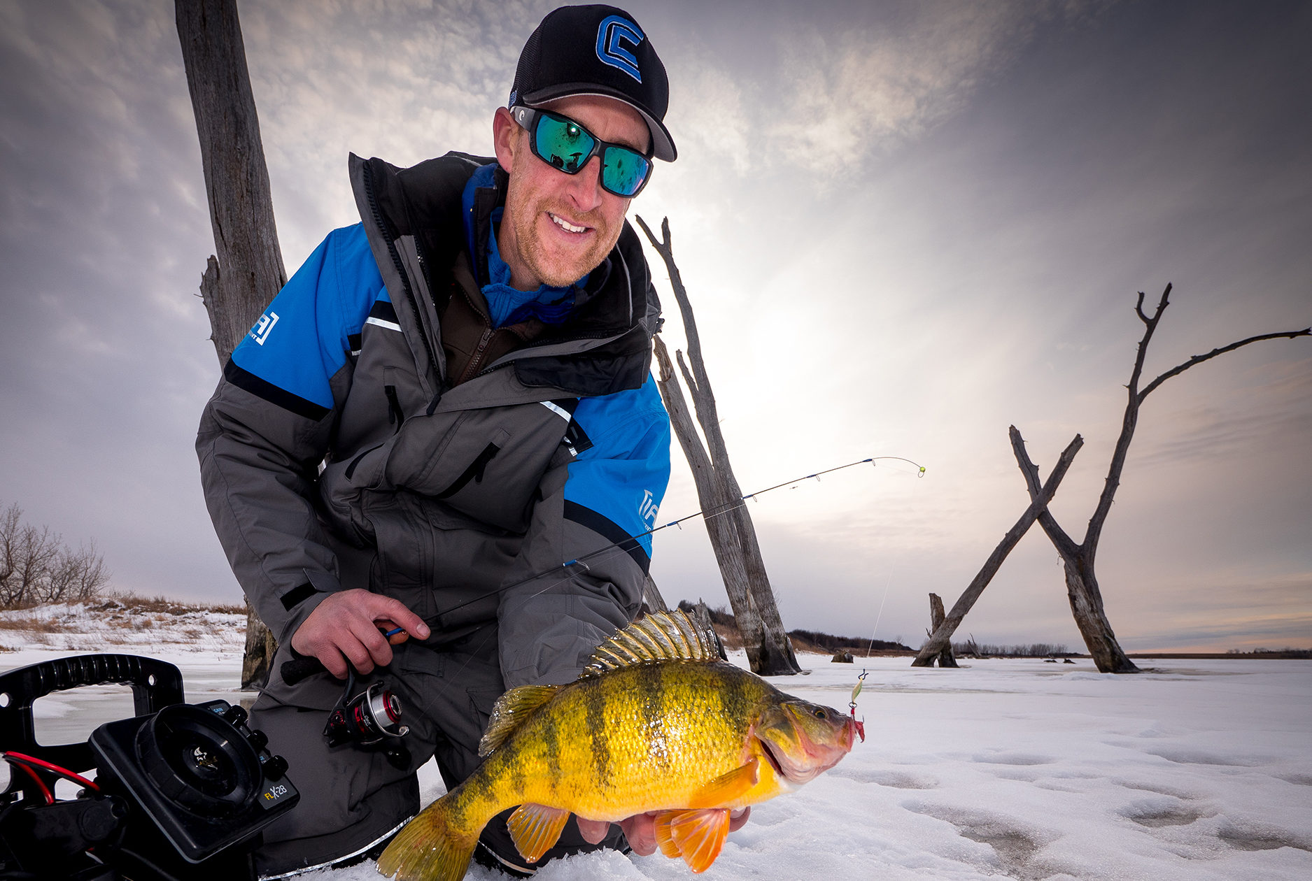 Minnesota perch ice fishing guide